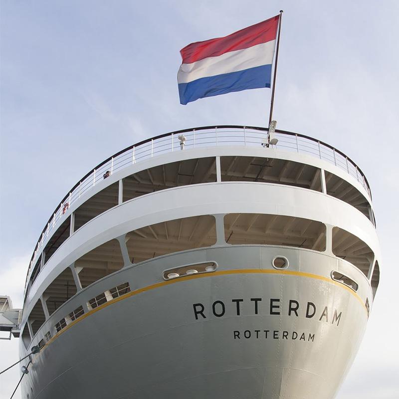 schip de ss rotterdam
