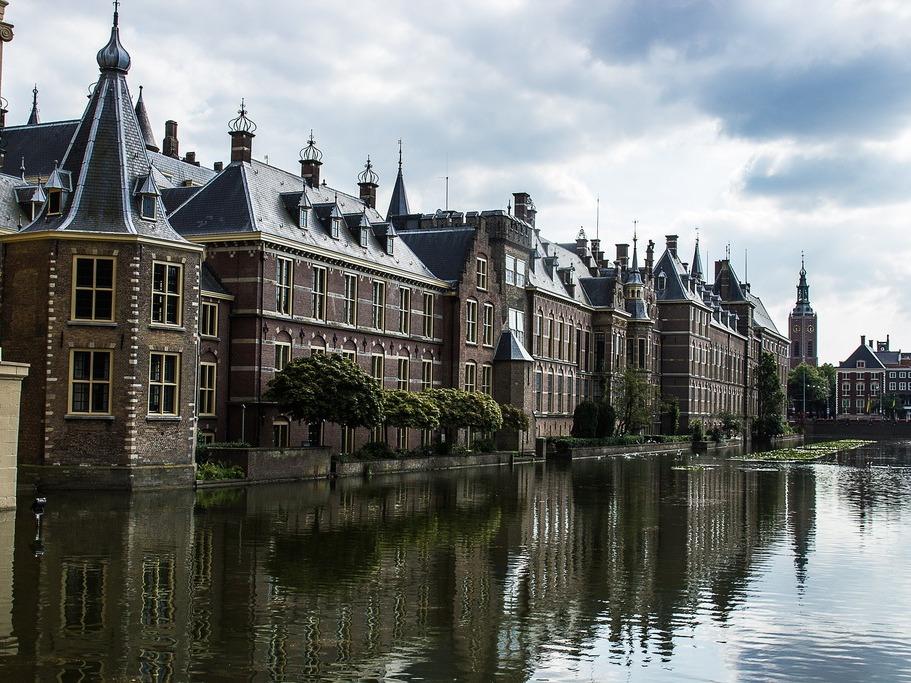 excursie naar Den Haag binnenhof